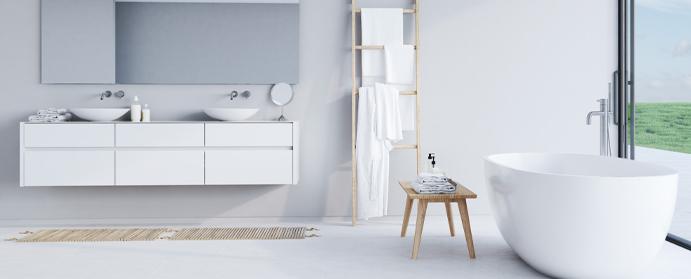 photo salle bain design contemporain epure