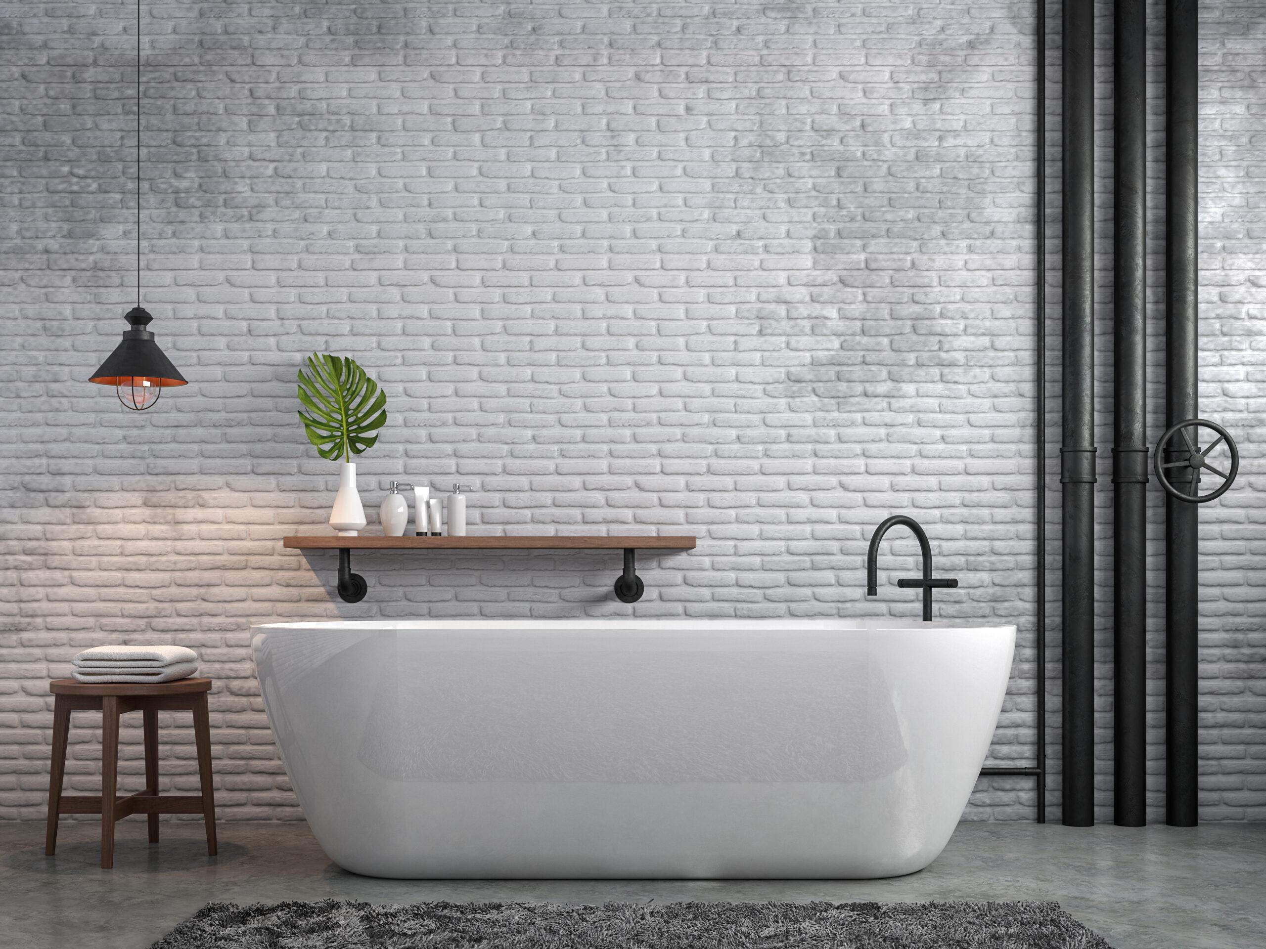 photo salle bain deco loft industrielphoto