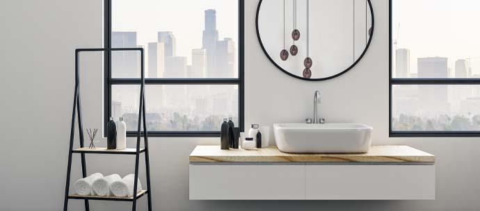 photo salle bain deco loft industriel