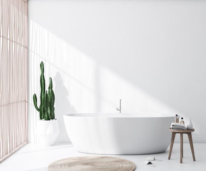 Photo salle bain scandinave minimalistephoto