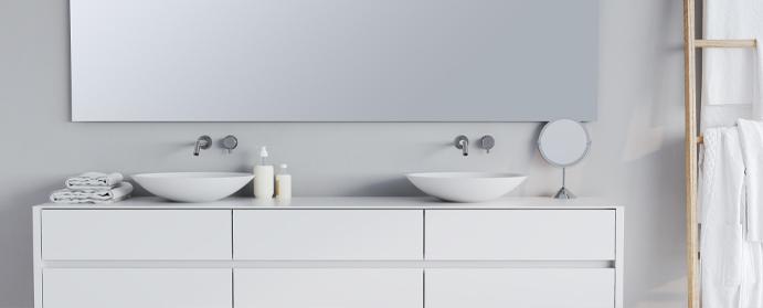 photo salle bain scandinave minimaliste