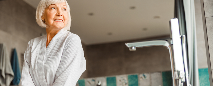photo salle bain senior pratique