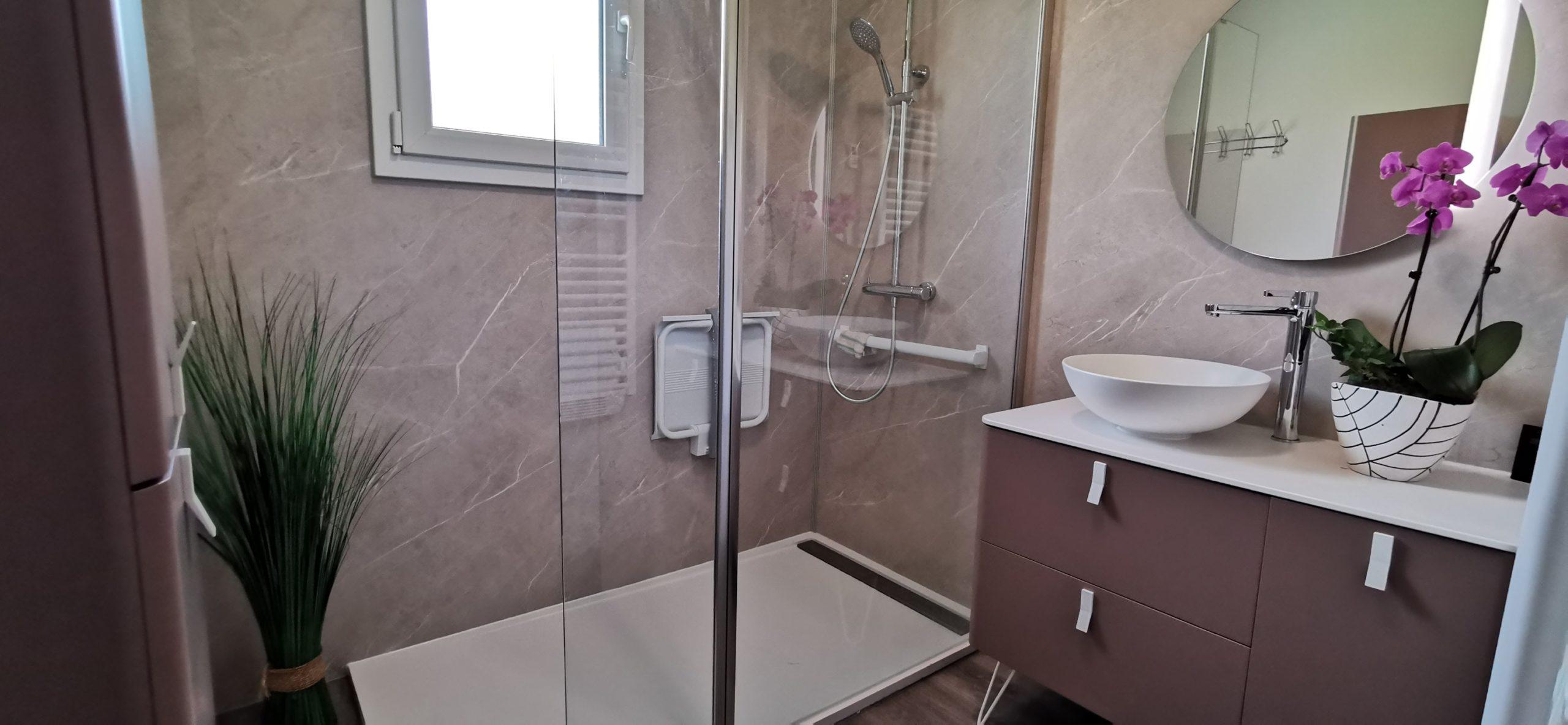 mobilier salle bain senior pratique