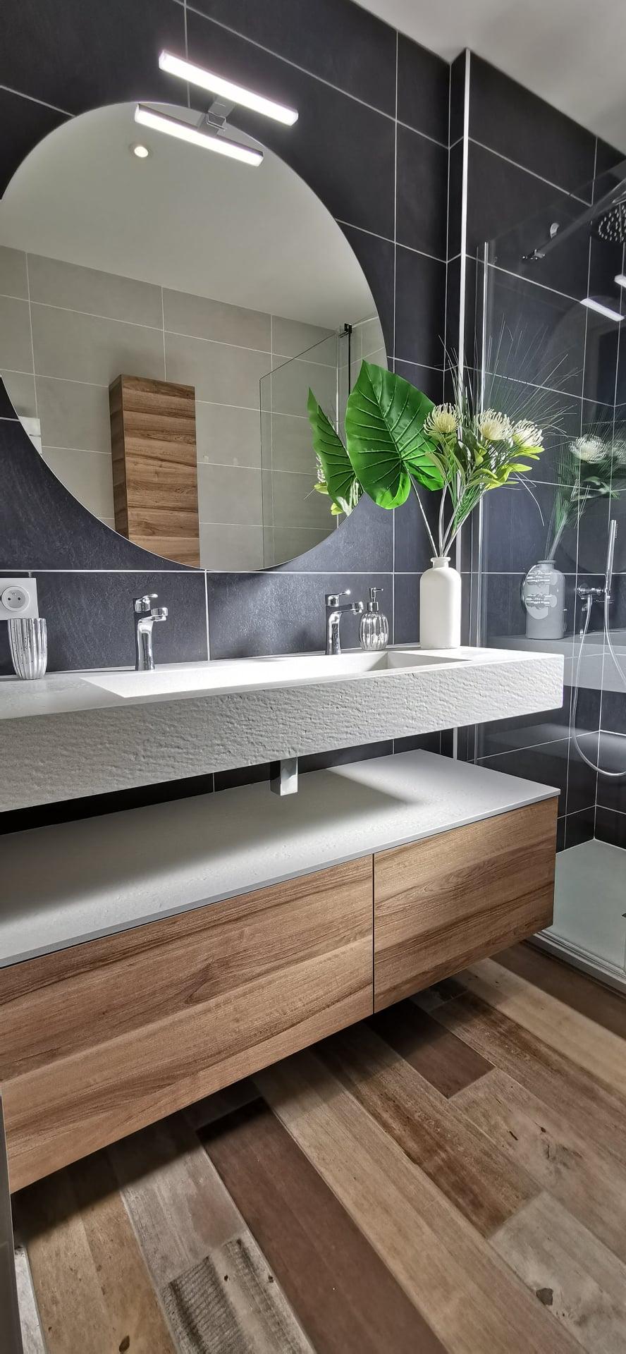 salle bain contemporaine
